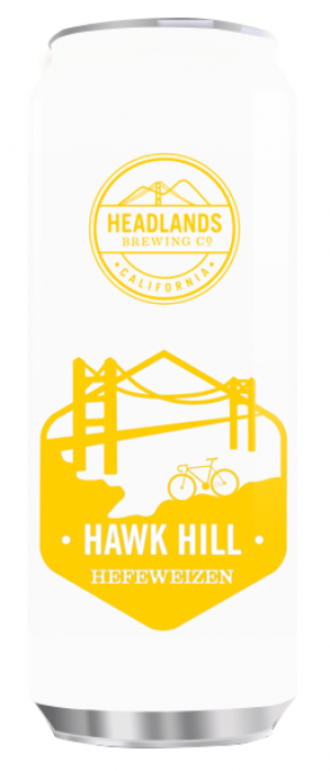 Hawk Hill Hefeweizen by Headlands Brewing Company in California, United States