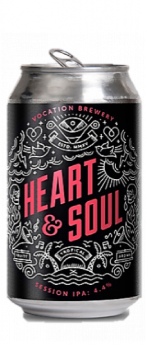 Heart & Soul Session IPA by Vocation Brewery in West Yorkshire - England, United Kingdom