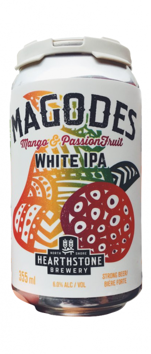 Magodes White IPA by Hearthstone Brewery in British Columbia, Canada
