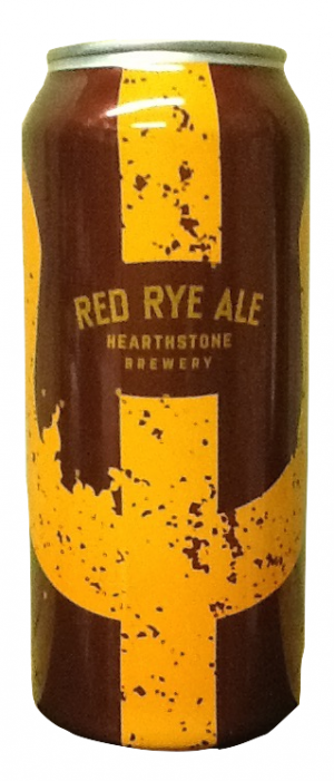 Red Rye Ale by Hearthstone Brewery in British Columbia, Canada