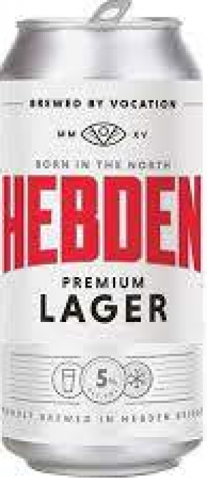 Hebden Lager by Vocation Brewery in West Yorkshire - England, United Kingdom