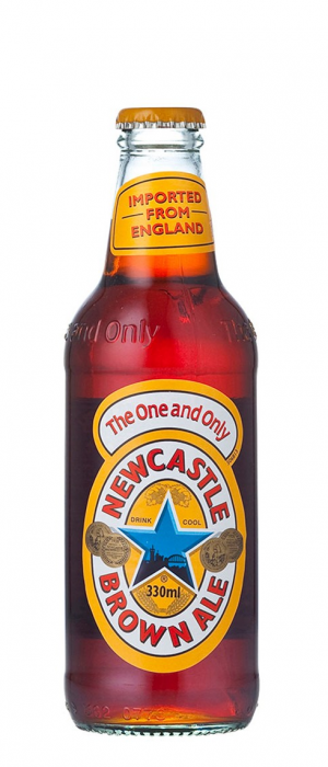 Newcastle Brown Ale by Heineken in North Holland, Netherlands