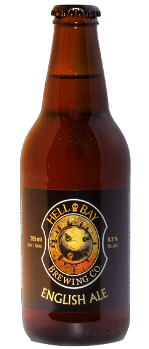 English Ale by Hell Bay Brewing Company in Nova Scotia, Canada
