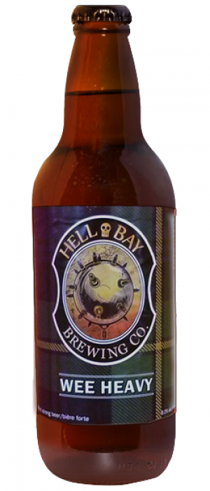 Wee Heavy by Hell Bay Brewing Company in Nova Scotia, Canada
