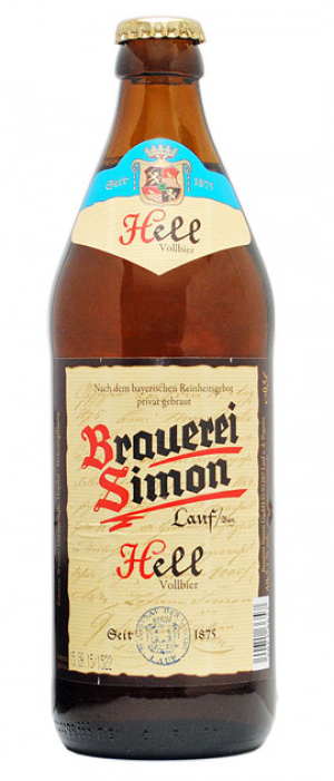 Hell by Brauerei Simon in Bavaria, Germany
