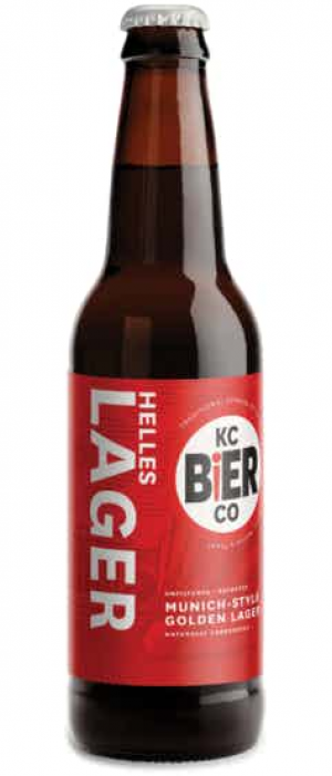 Helles Lager by Kansas City Bier Company in Missouri, United States