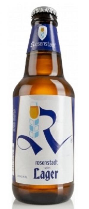 Helles Lager by Rosenstadt Brewery in Oregon, United States