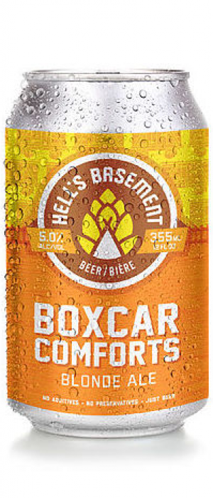 Boxcar Comforts by Hell's Basement Brewery in Alberta, Canada