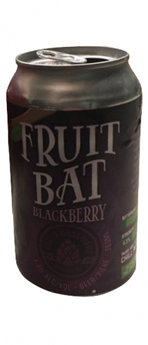 Fruit Bat Blackberry by Hell's Basement Brewery in Alberta, Canada