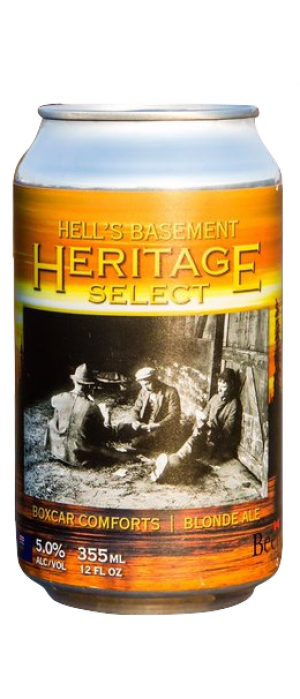 Heritage Select by Hell's Basement Brewery in Alberta, Canada