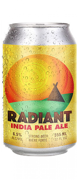 Radiant IPA by Hell's Basement Brewery in Alberta, Canada