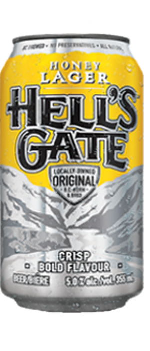 Hell's Gate Honey Lager