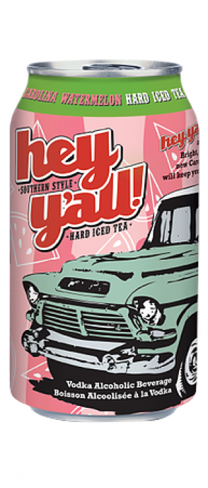 Carolina Watermelon Hard Iced Tea by Hey Y'all Southern Style Hard Iced Tea in British Columbia, Canada