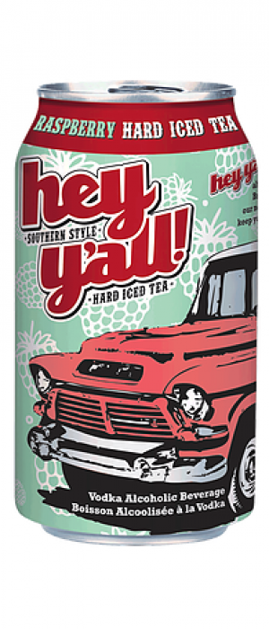 Raspberry Hard Iced Tea by Hey Y'all Southern Style Hard Iced Tea in British Columbia, Canada