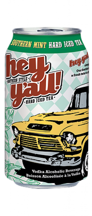 Southern Mint Hard Iced Tea by Hey Y'all Southern Style Hard Iced Tea in British Columbia, Canada