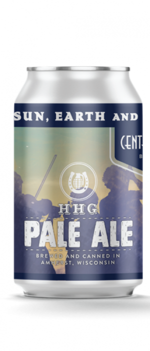 HHG Pale Ale by Central Waters Brewing Company in Wisconsin, United States