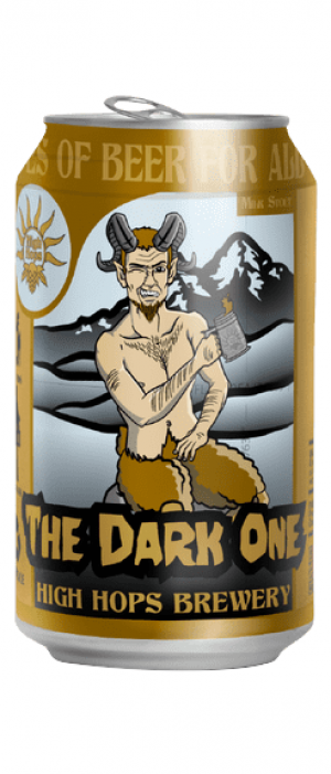 The Dark One by High Hops Brewery in Colorado, United States