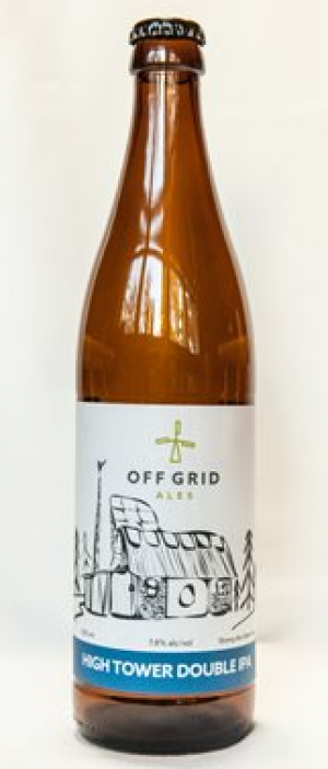 High Tower Double IPA by Off Grid Ales in New Brunswick, Canada