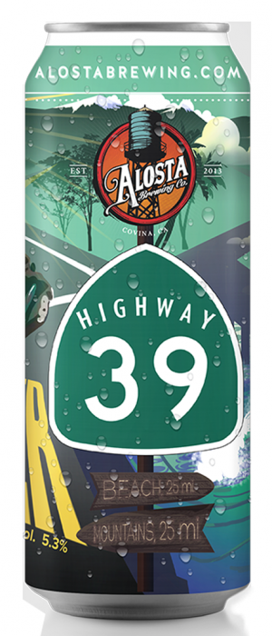Highway 39 by Alosta Brewing Company in California, United States