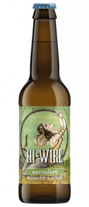 Aerialist Summer Lager by Hi-Wire Brewing in North Carolina, United States
