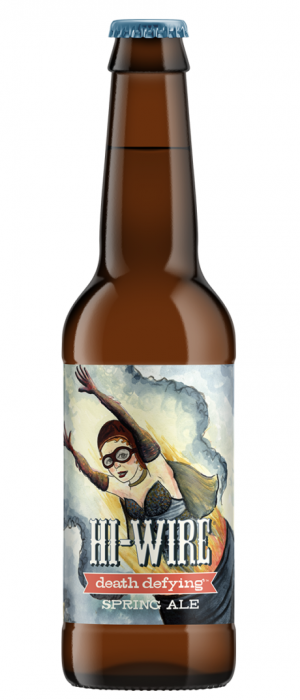 Death Defying Spring Ale by Hi-Wire Brewing in North Carolina, United States