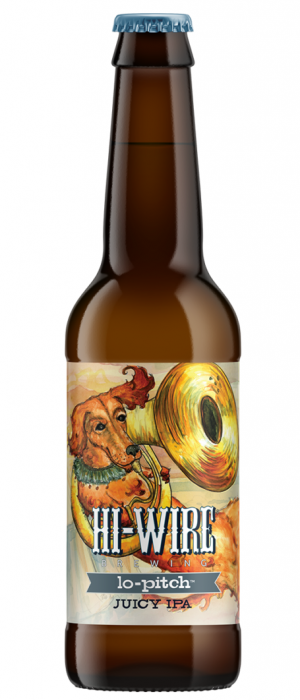 Lo-Pitch Juicy IPA by Hi-Wire Brewing in North Carolina, United States