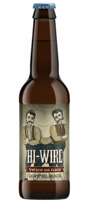 Twice As Nice Doppelbock by Hi-Wire Brewing in North Carolina, United States