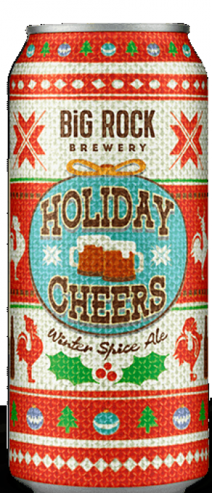 Holiday Cheers Winter Spice Ale by Big Rock Brewery in Alberta, Canada