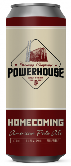 Homecoming by Powerhouse Brewing Company in Ontario, Canada