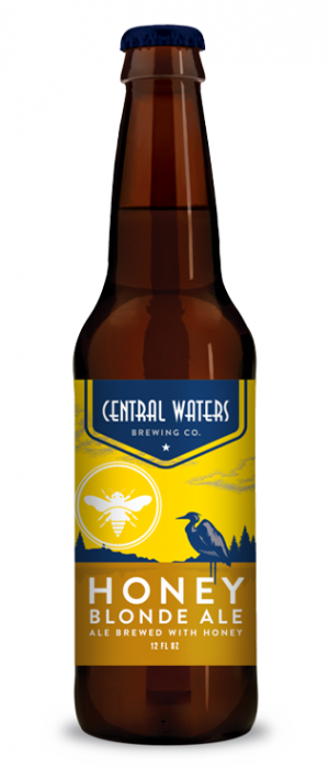 Honey Blonde Ale by Central Waters Brewing Company in Wisconsin, United States