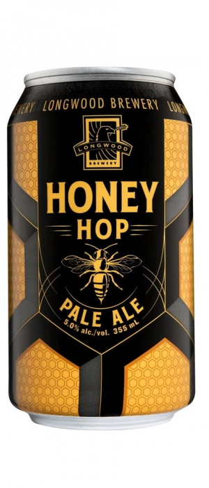 Honey Hop Pale Ale by Longwood Brewery in British Columbia, Canada