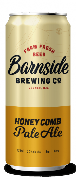 Honeycomb Pale by Barnside Brewing Co. in British Columbia, Canada