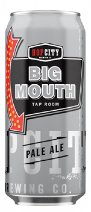 Big Mouth Pale Ale by Hop City Brewing Company in Ontario, Canada