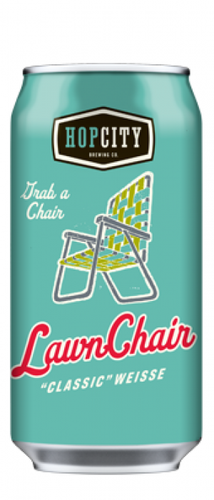 """Lawn Chair """"Classic"""" Weisse"""