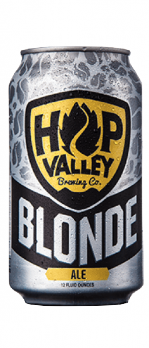 Blonde Ale by Hop Valley Brewing Company in Oregon, United States