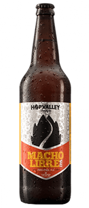 Macho Libre IPA by Hop Valley Brewing Company in Oregon, United States