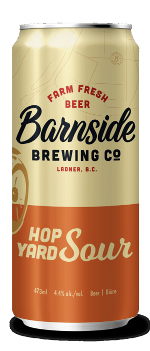 Hop Yard Sour by Barnside Brewing Co. in British Columbia, Canada