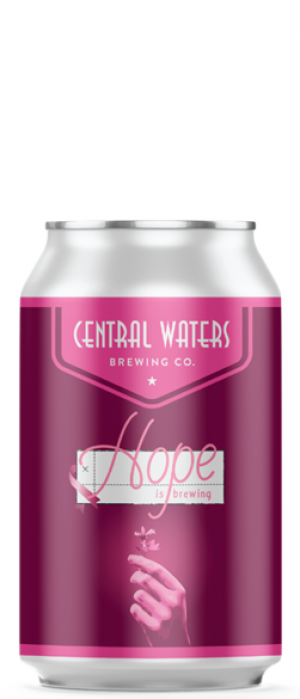 Hope Is Brewing by Central Waters Brewing Company in Wisconsin, United States