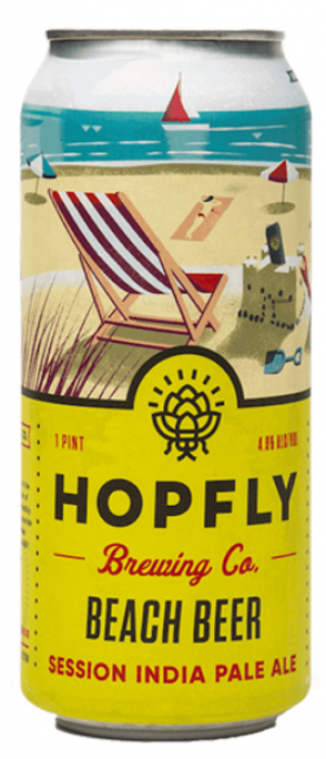 Beach Beer by HopFly Brewing Company in North Carolina, United States