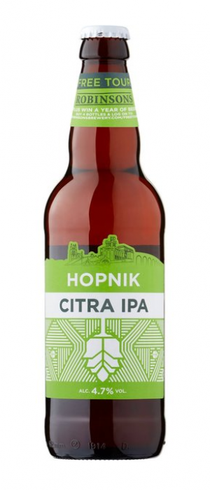 Hopnik Citra IPA by Robinsons Brewery in Suffolk - England, United Kingdom
