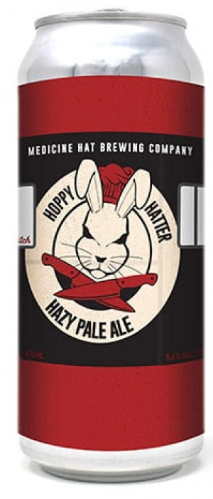 Hoppy Hatter by Medicine Hat Brewing Company in Alberta, Canada