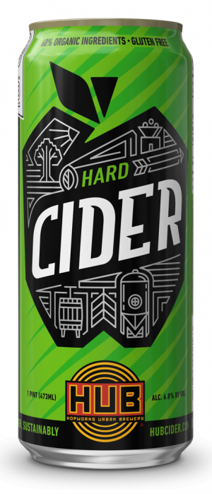HUB Hard Cider by Hopworks Urban Brewery in Oregon, United States
