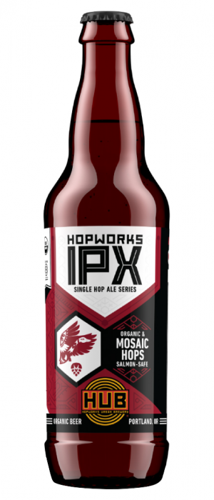 Organic Mosaic IPX by Hopworks Urban Brewery in Oregon, United States