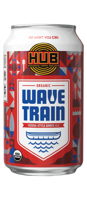 Organic Wave Train by Hopworks Urban Brewery in Oregon, United States