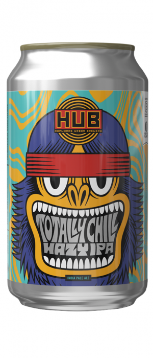 Totally Chill Hazy IPA by Hopworks Urban Brewery in Oregon, United States