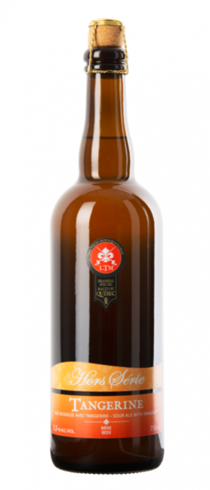 Hors Séries: Tangerine by Microbrasserie Les Trois Mousquetaires in Québec, Canada