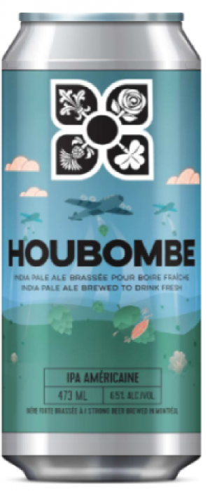 Houbombe by Microbrasserie 4 Origines in Québec, Canada