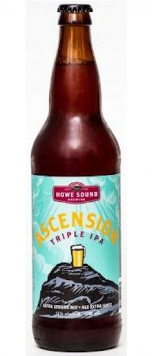 Ascension Triple IPA by Howe Sound Brewing in British Columbia, Canada