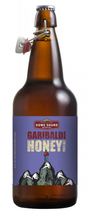 Garibaldi Honey Pale Ale by Howe Sound Brewing in British Columbia, Canada