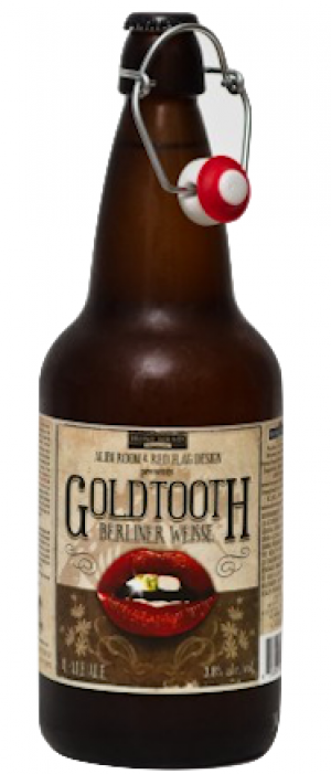 Gold Tooth Berliner Weisse by Howe Sound Brewing in British Columbia, Canada